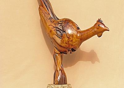 2009 11 Bohemian Bird.765 x .700 x .220 rhs